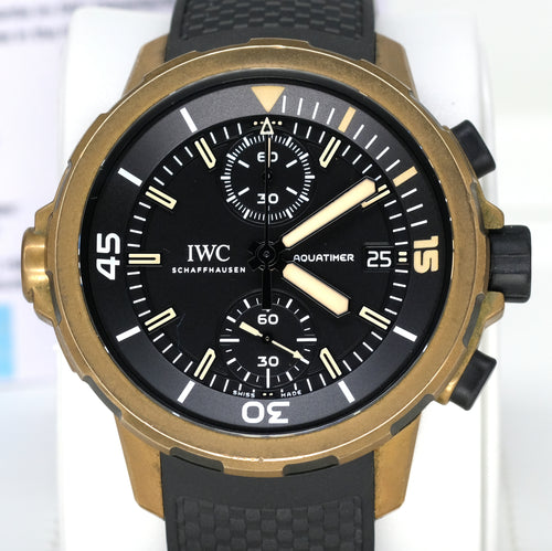 "[Pre-Owned Watch] IWC Aquatimer Chronograph 44mm IW379503 (Special Edition ""Expedition Charles Darwin"")"