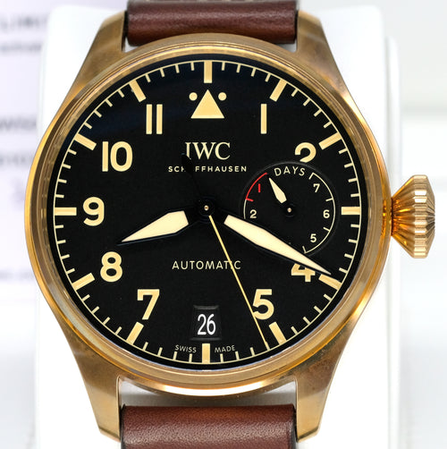 [Pre-Owned Watch] IWC Big Pilot's Watch Heritage 46.2mm IW501005 (Limited Edition of 1,500 Pieces)