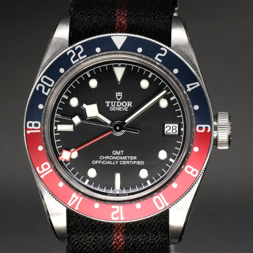 [Brand New Watch] Tudor Black Bay GMT 41mm 79830RB (Nato Strap)