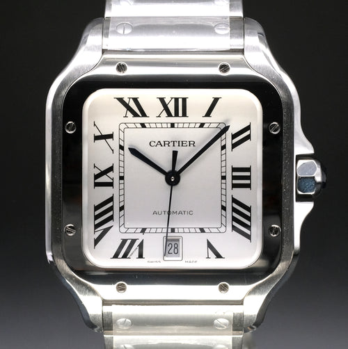 [Brand New Watch] Cartier Santos de Cartier 39.8mm WSSA0009