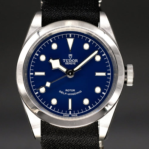[Brand New Watch] Tudor Black Bay 41 41mm 79540 Blue Dial (Black Fabric Strap)