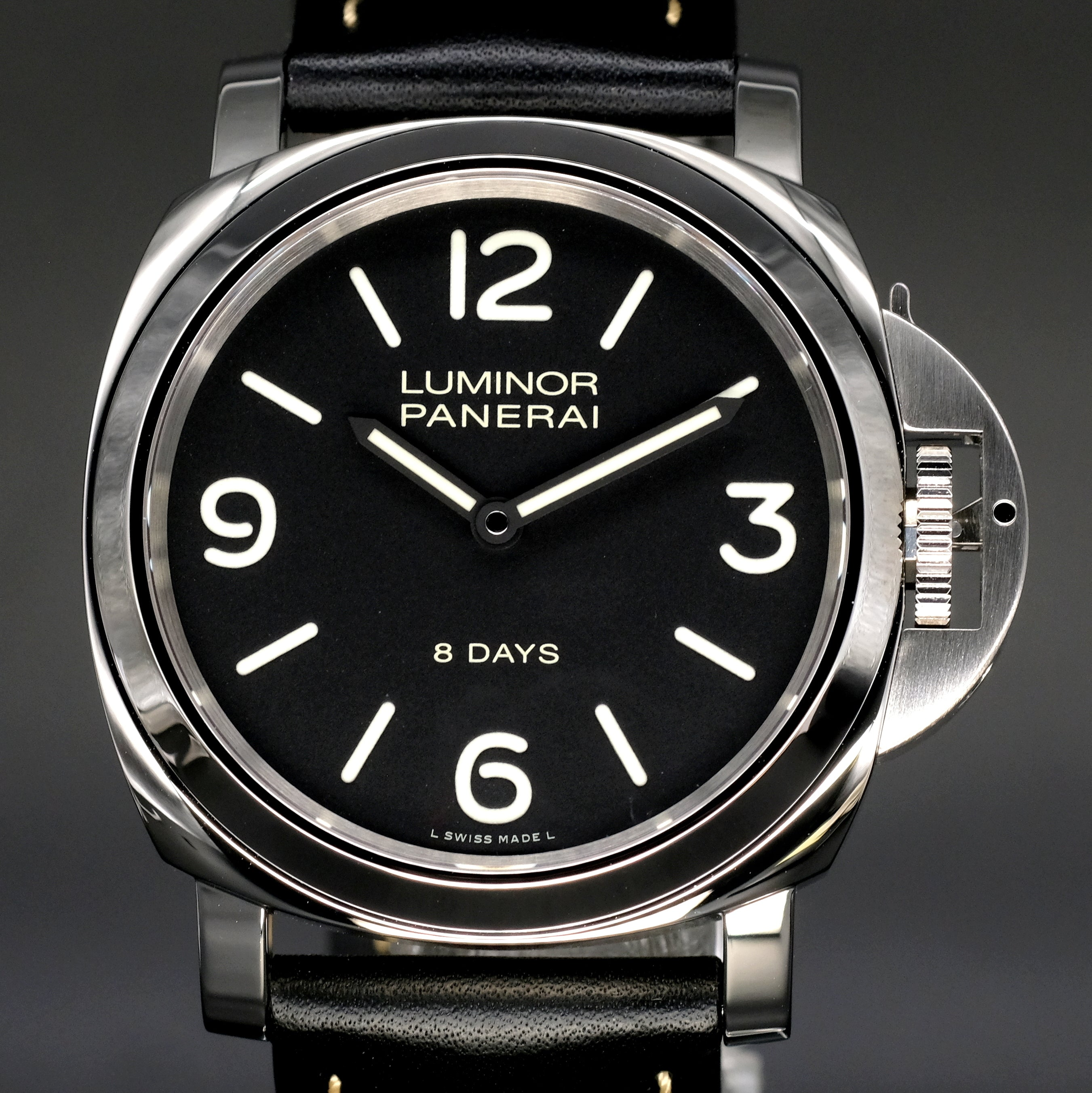 [Brand New Watch] Panerai Luminor Base 8 Days Acciaio 44mm PAM00560