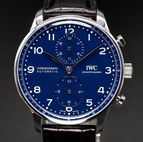 "[Brand New Watch] IWC Portugieser Chronograph 41mm IW371601 ( ""150 Years"" 2,000 Pieces Limited Edition)"