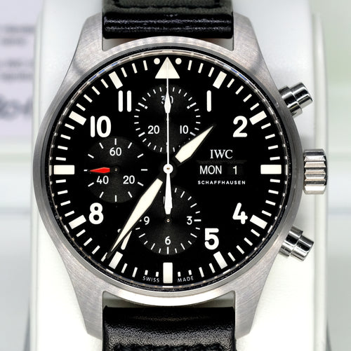 [Pre-Owned Watch] IWC Pilot's Watch Chronograph 43mm IW377709