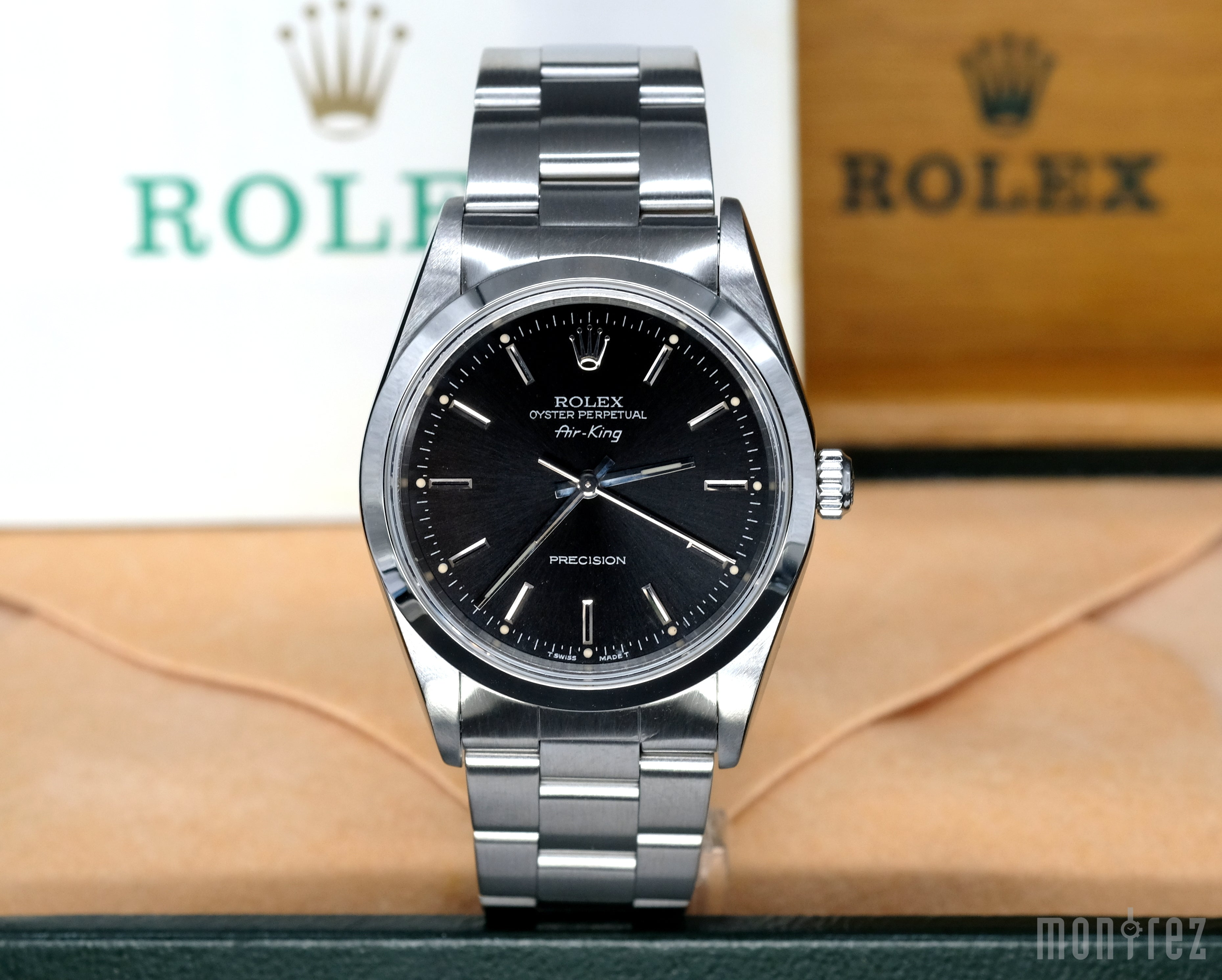 [Pre-Owned Watch] Rolex Air-King Precision 34mm 14000 Black Dial (Out of Production) (400 Hong Kong Authorized Dealer Stock)