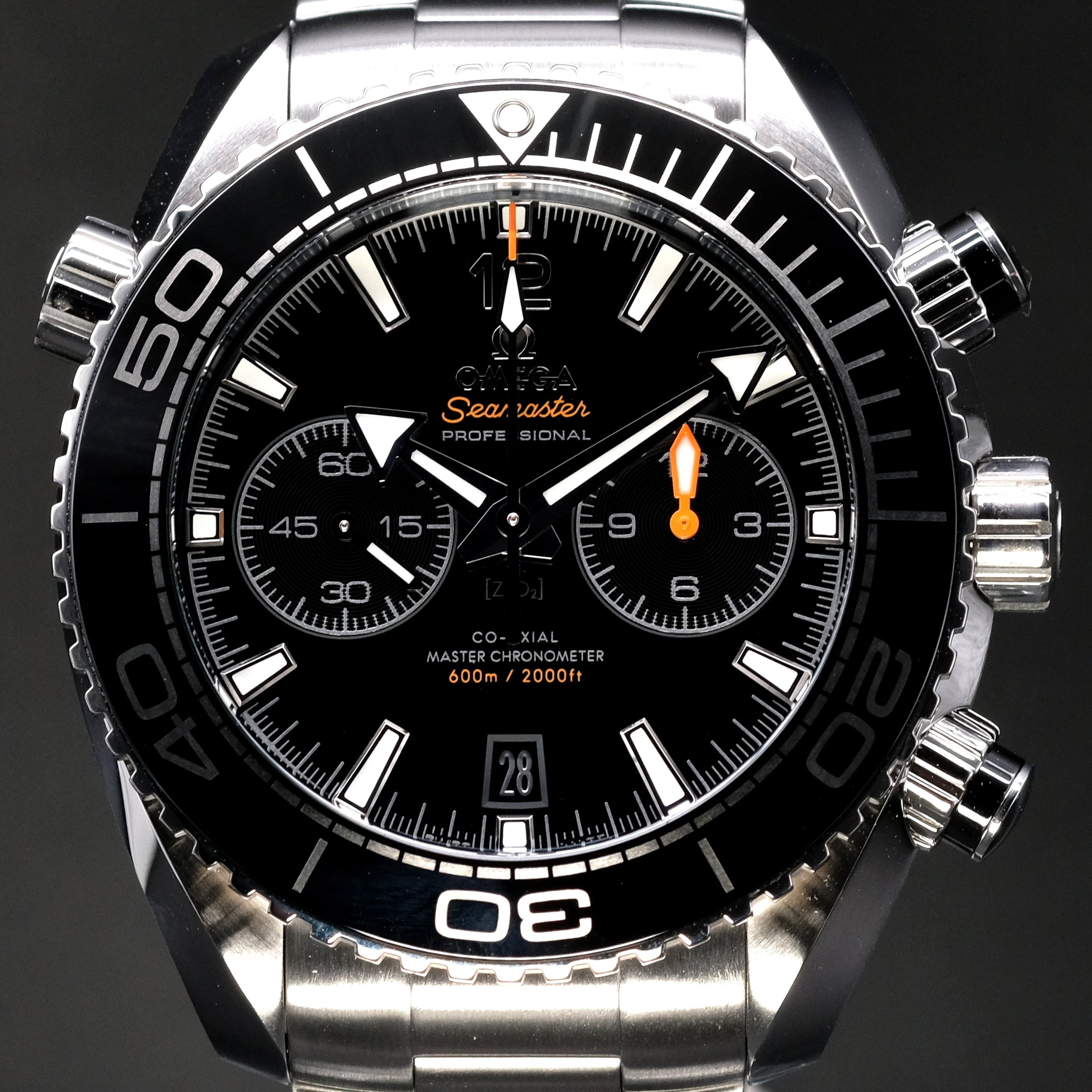 [Brand New Watch] Omega Seamaster Planet Ocean 600m Co-Axial Master Chronometer Chronograph 45.5mm 215.30.46.51.01.001