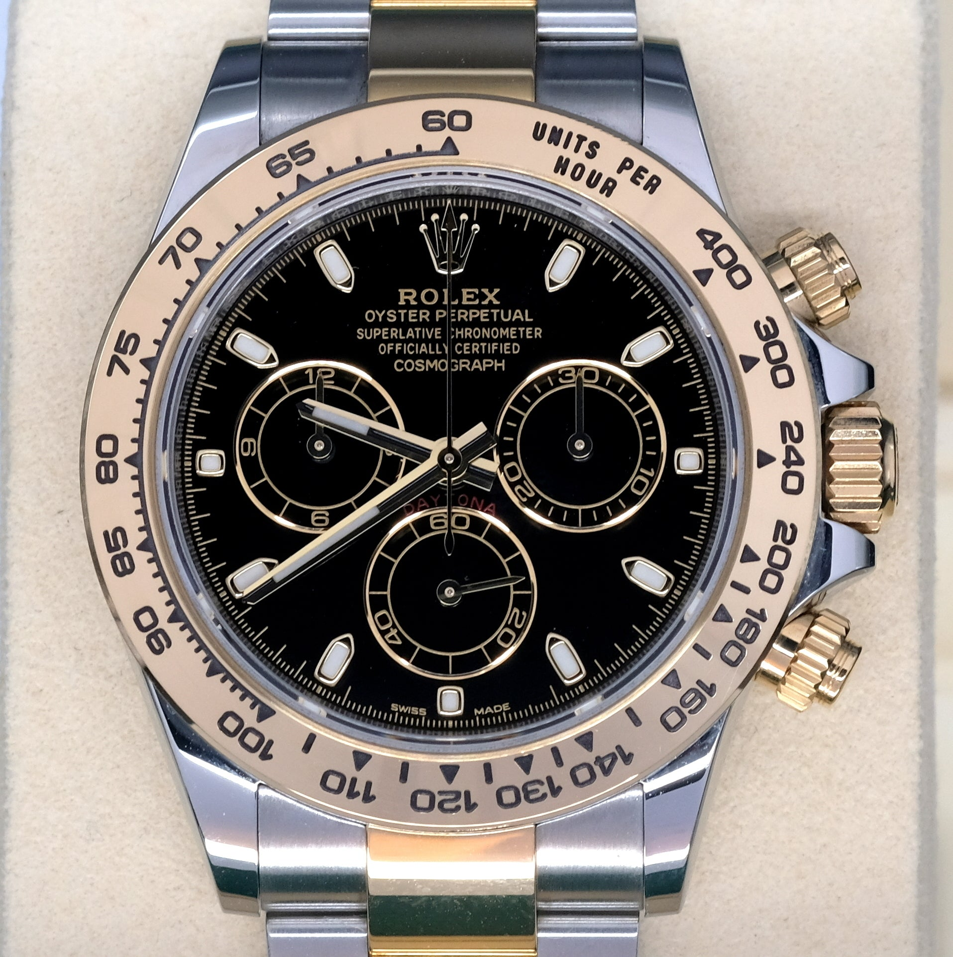 [Pre-Owned Watch] Rolex Cosmograph Daytona 40mm 116503 Black Dial