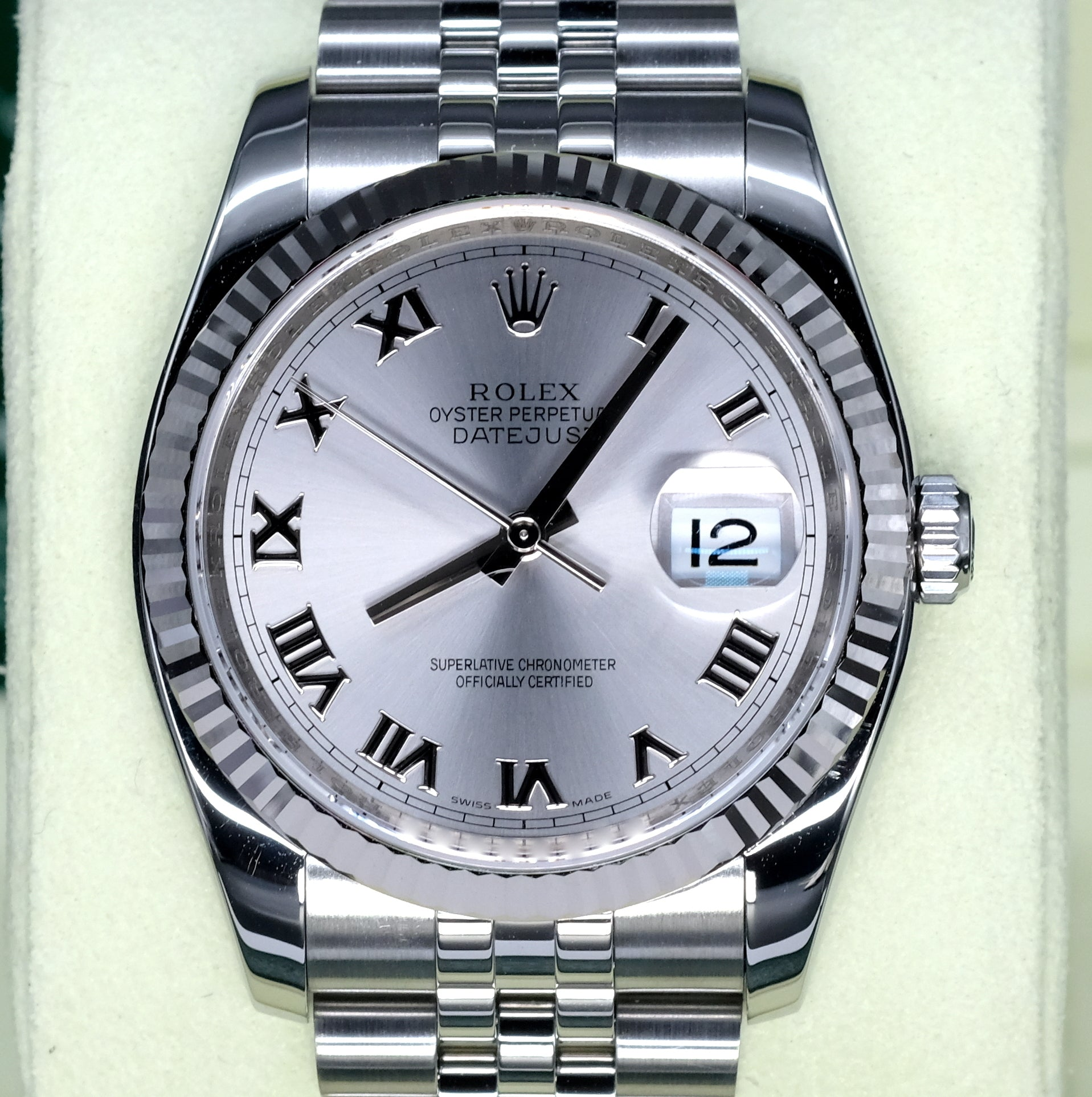 [Pre-Owned Watch] Rolex Datejust 36mm 116234 Rhodium Roman Dial (Jubilee Bracelet) (888)