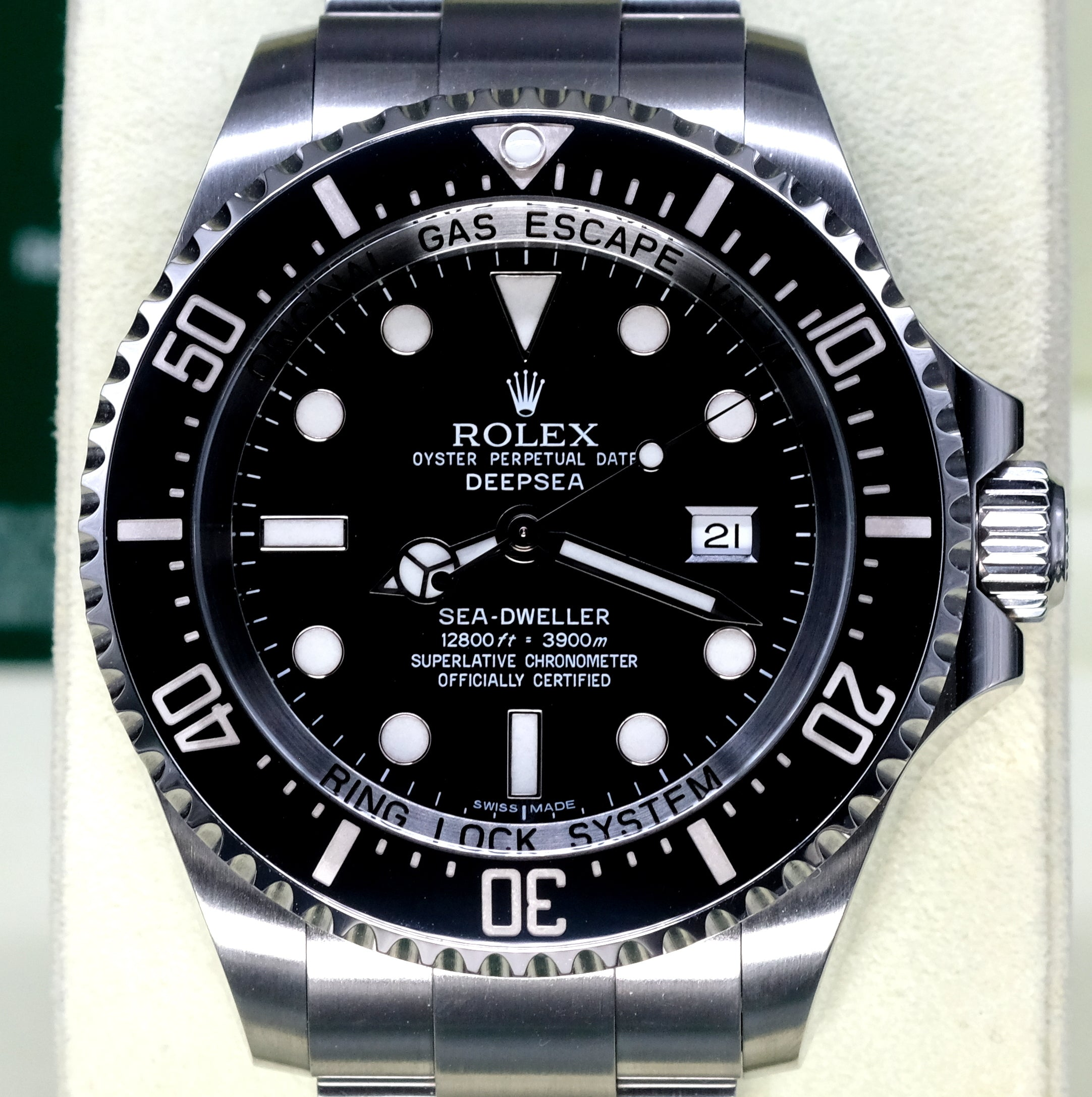 [Pre-Owned Watch] Rolex Deepsea 44mm 116660 Black Dial (888) (Out of Production)