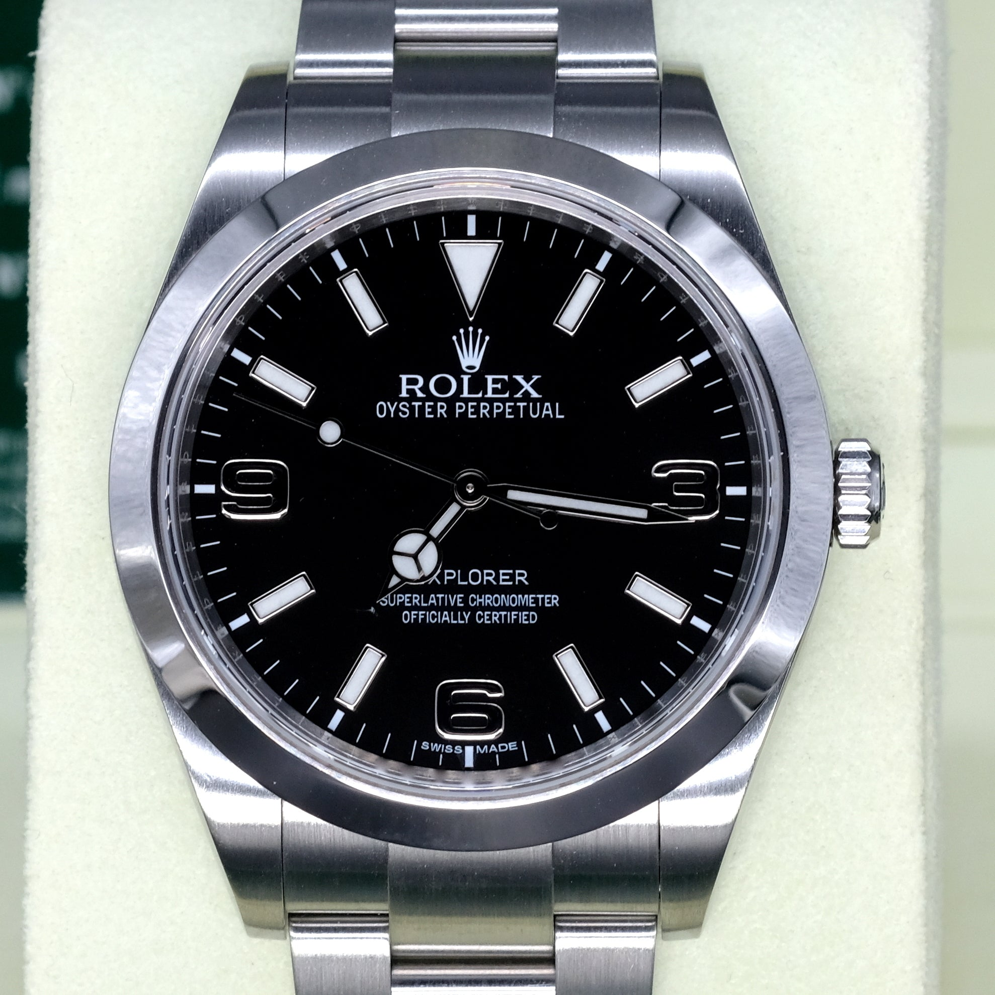 [Pre-Owned Watch] Rolex Explorer I 39mm 214270 (888) (Out of Production)
