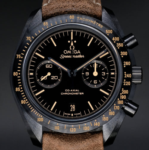 "[Brand New Watch] Omega Speedmaster Moonwatch Co-Axial Chronograph ""Dark Side of the Moon"" Vintage Black 44.25mm 311.92.44.51.01.006"