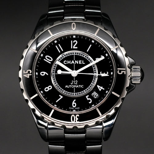 [Brand New Watch] Chanel J12 Black 38mm H0685