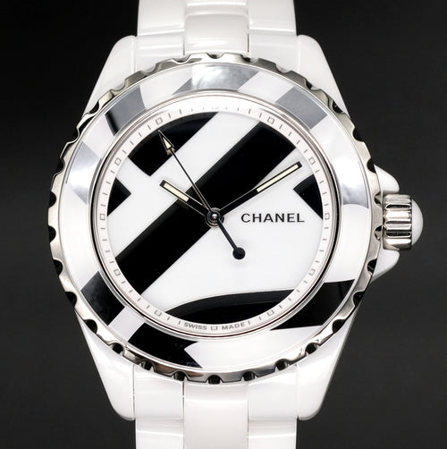 [Brand New Watch] Chanel J12 Untitled Watch 38mm H5582 (Limited Edition of 1200 Pieces)
