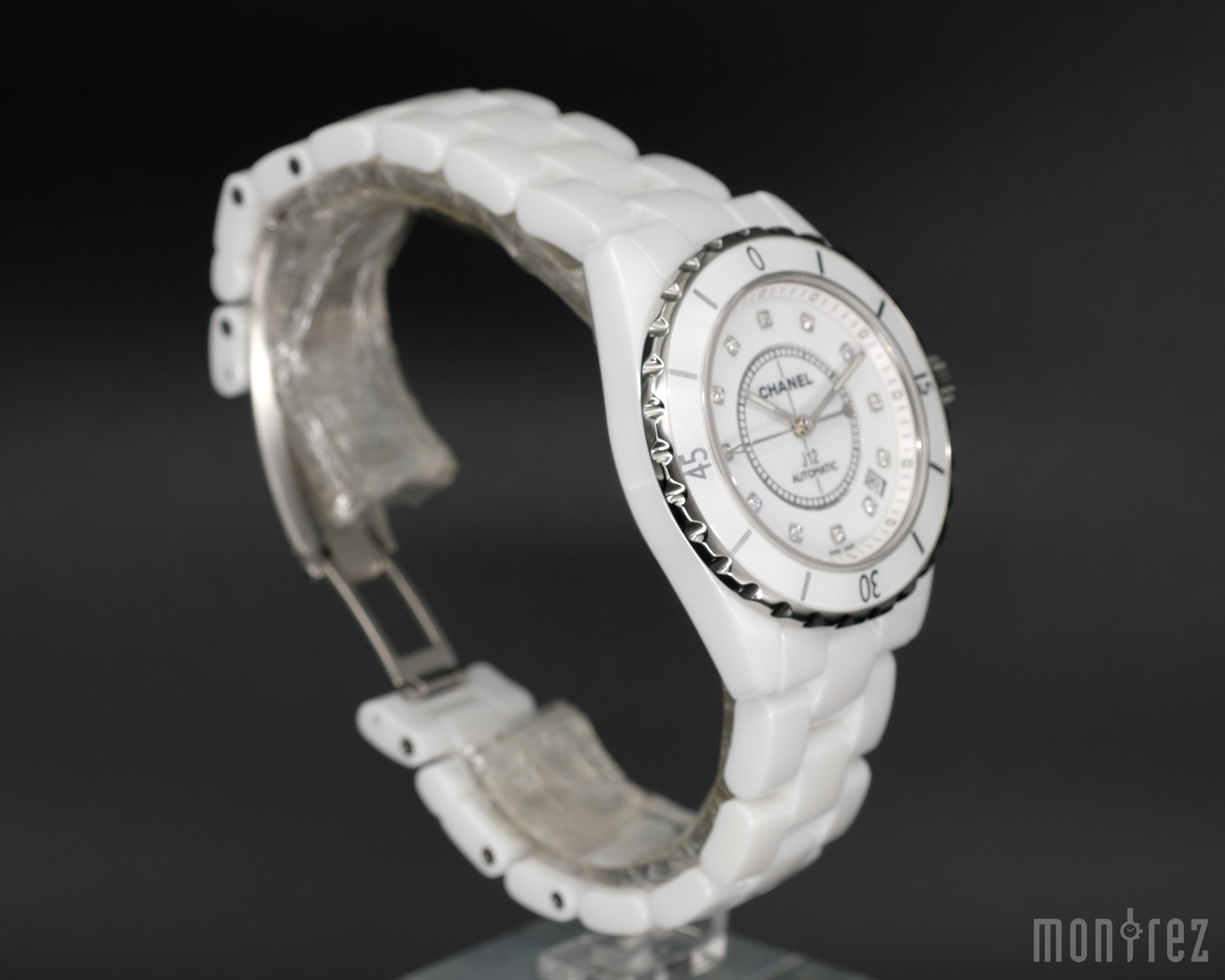 [Brand New Watch] Chanel J12 White with Diamonds 38mm H1629