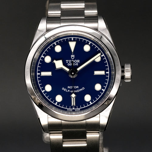 [Brand New Watch] Tudor Black Bay 32 32mm 79580 Blue Dial (Steel Bracelet)