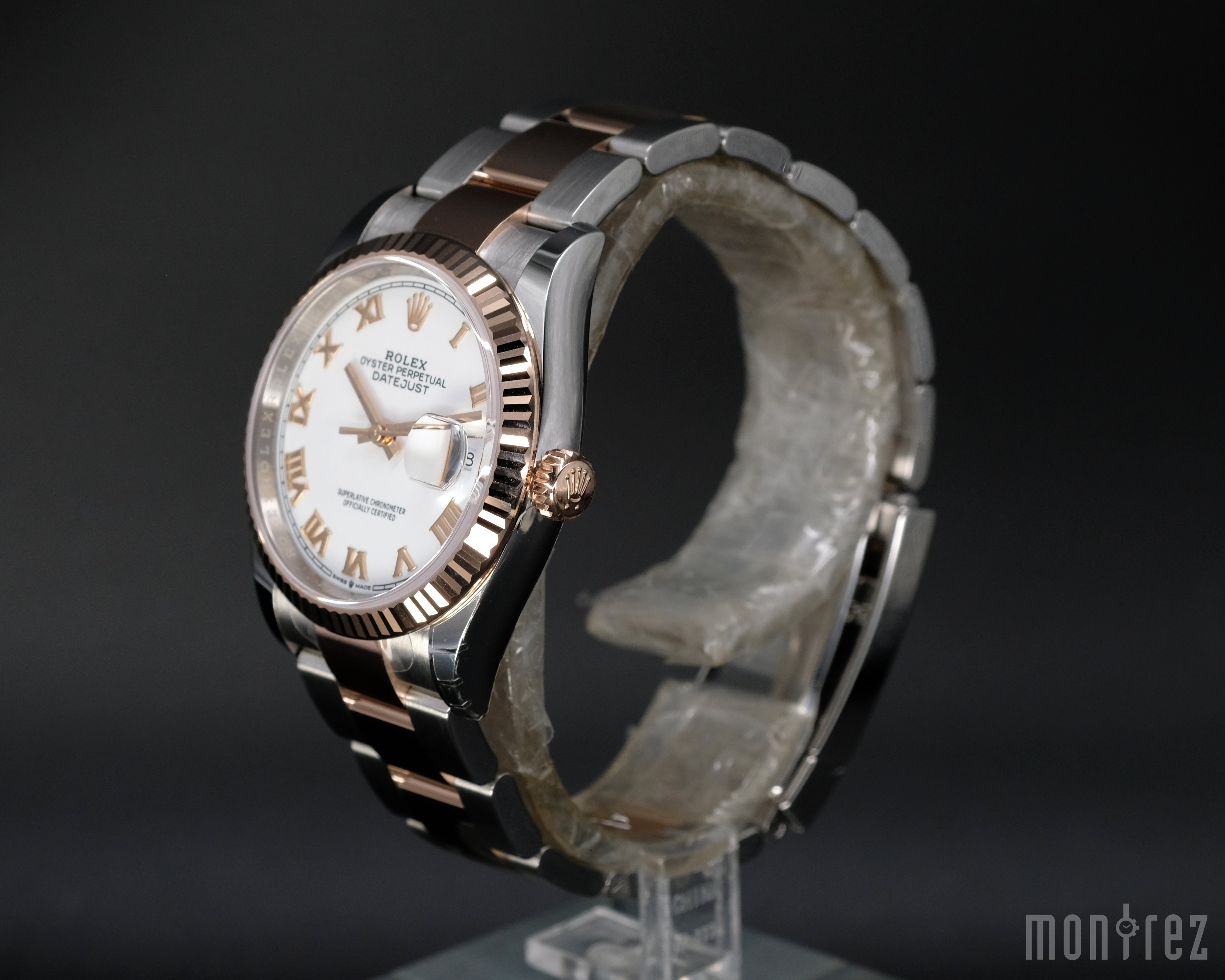 [Brand New Watch] Rolex Datejust 36mm 126231 White Roman Dial (Oyster Bracelet)