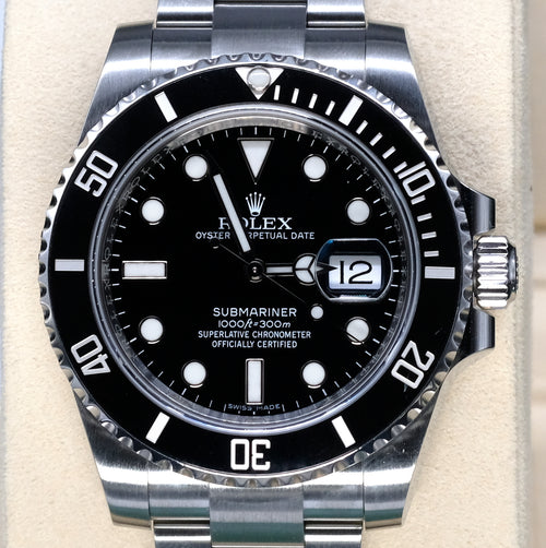 [Pre-Owned Watch] Rolex Submariner Date 40mm 116610LN (888)
