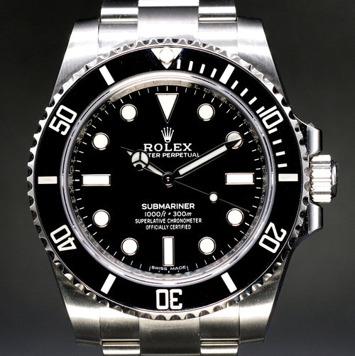 [Brand New Watch] Rolex Submariner No Date 40mm 114060 (888)