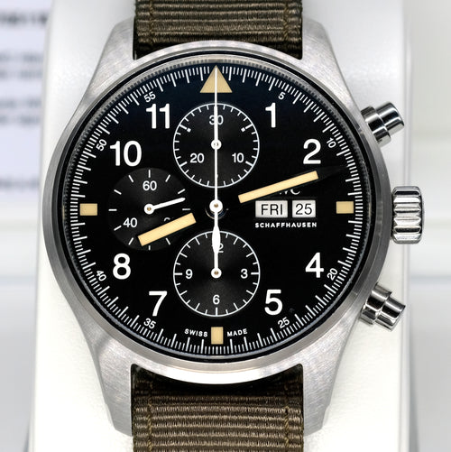 [Pre-Owned Watch] IWC Pilot's Watch Chronograph 43mm IW377724 (IWC Online-Only Edition)