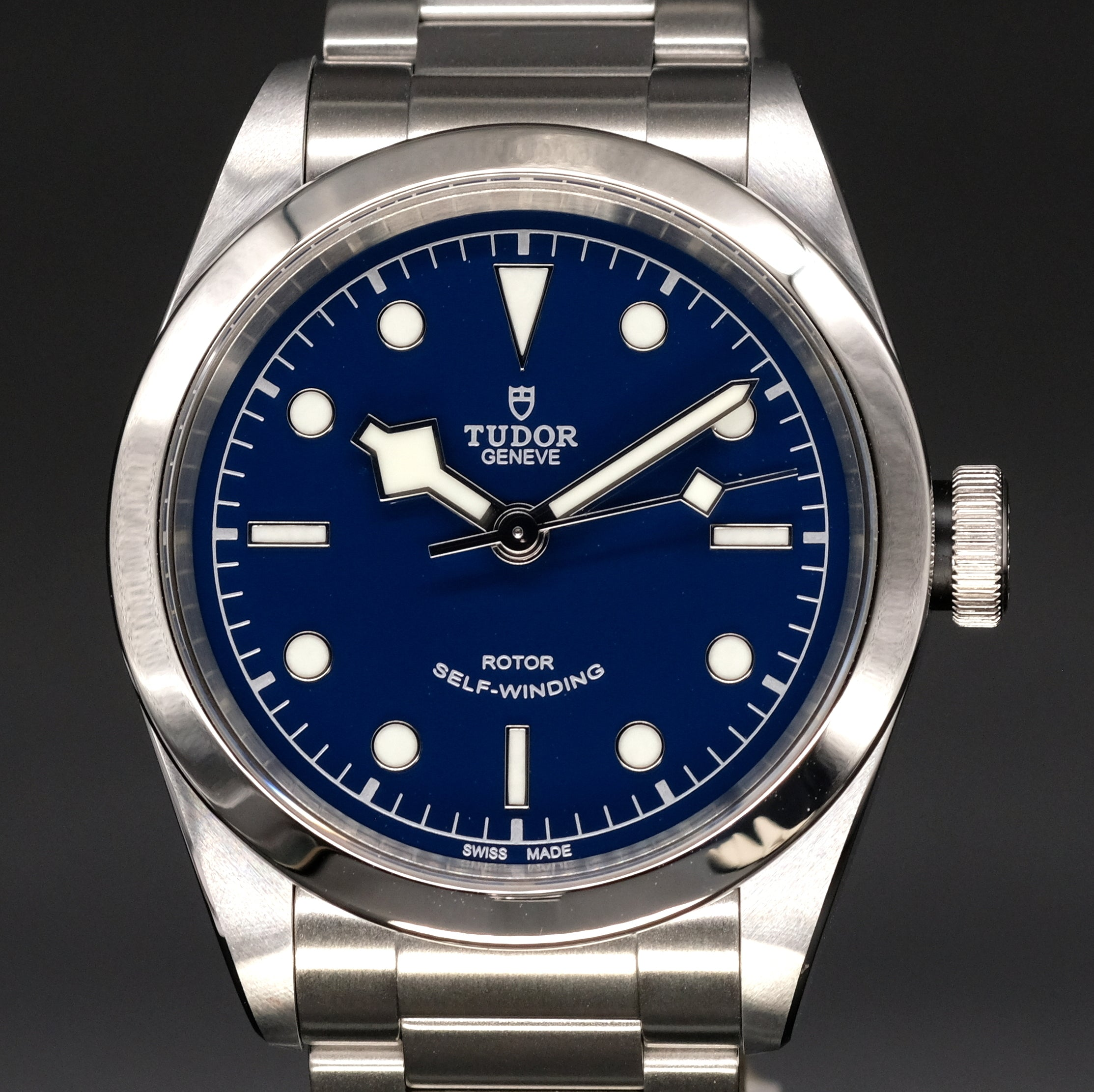 [Brand New Watch] Tudor Black Bay 41 41mm 79540 Blue Dial (Steel Bracelet)