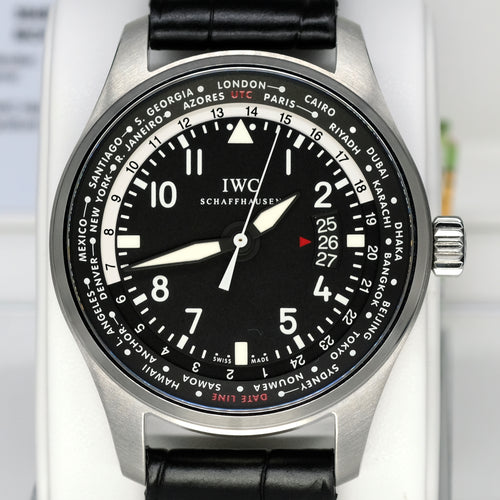 [Pre-Owned Watch] IWC Pilot's Watch Worldtimer Automatic 45mm IW326201 (Out of Production)