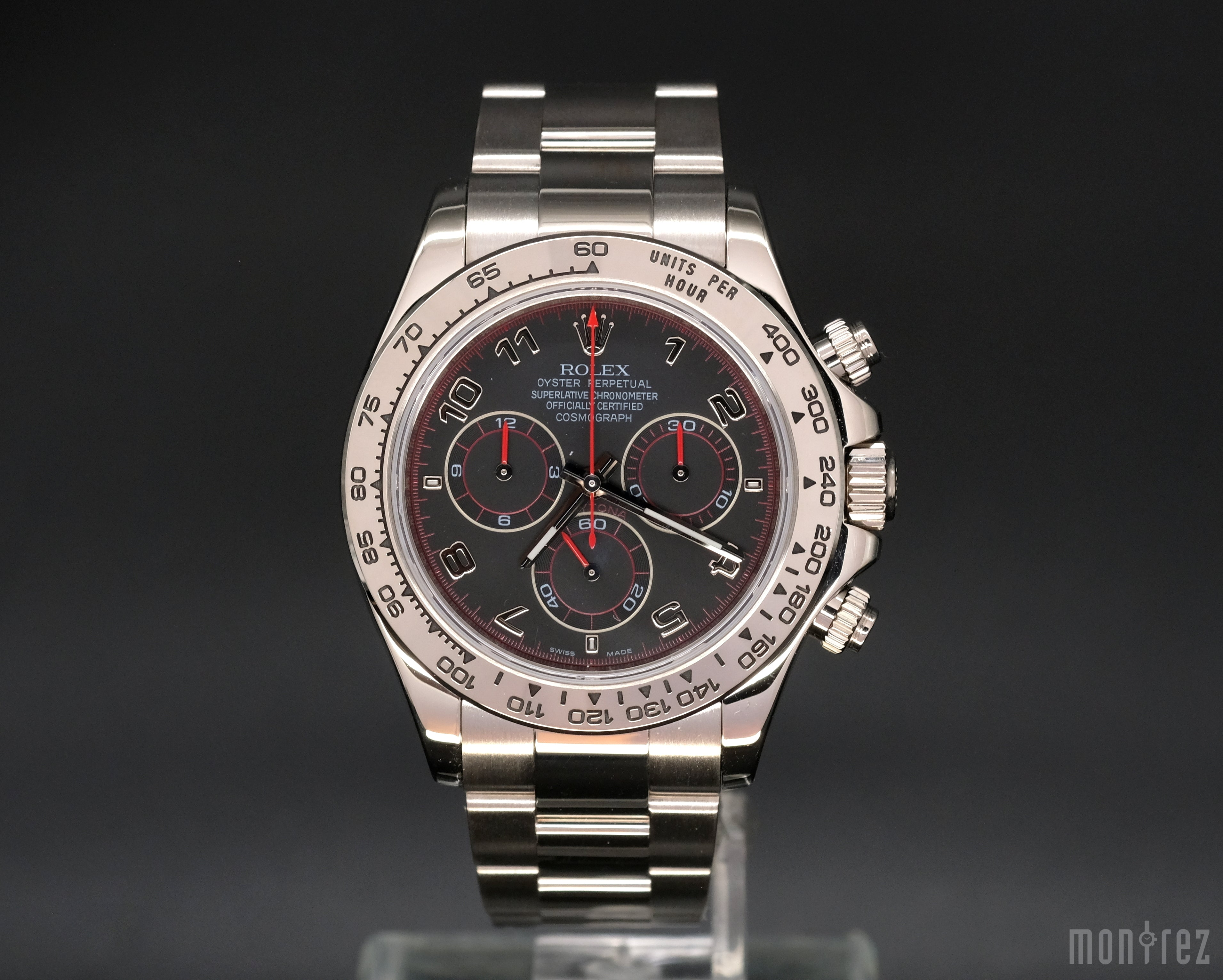 [Pre-Owned Watch] Rolex Cosmograph Daytona 40mm 116509 Black Arabic Dial (888) (Out of Production)
