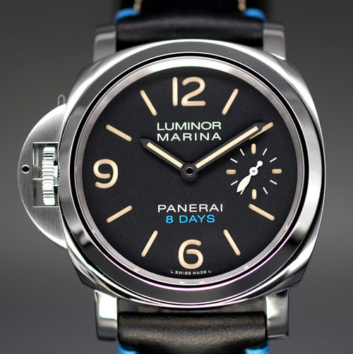 [Brand New Watch] Panerai Luminor Left-Handed 8 Days Acciaio 44mm PAM00796