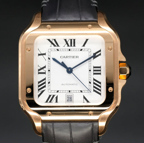 [Brand New Watch] Cartier Santos de Cartier 39.8mm WGSA0011