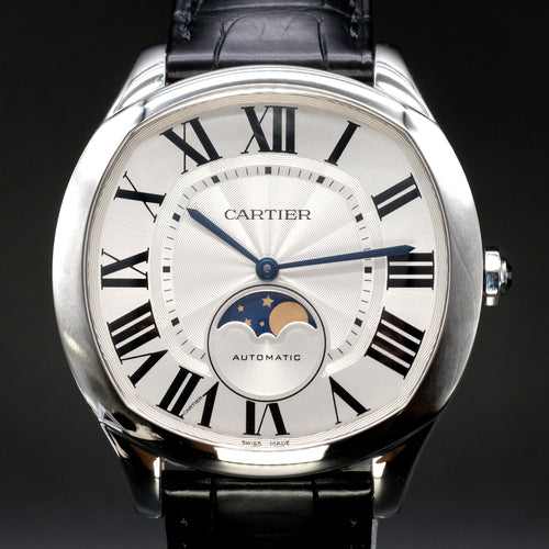 [Brand New Watch] Cartier Drive de Cartier Moon Phases Watch 40mm WSNM0008