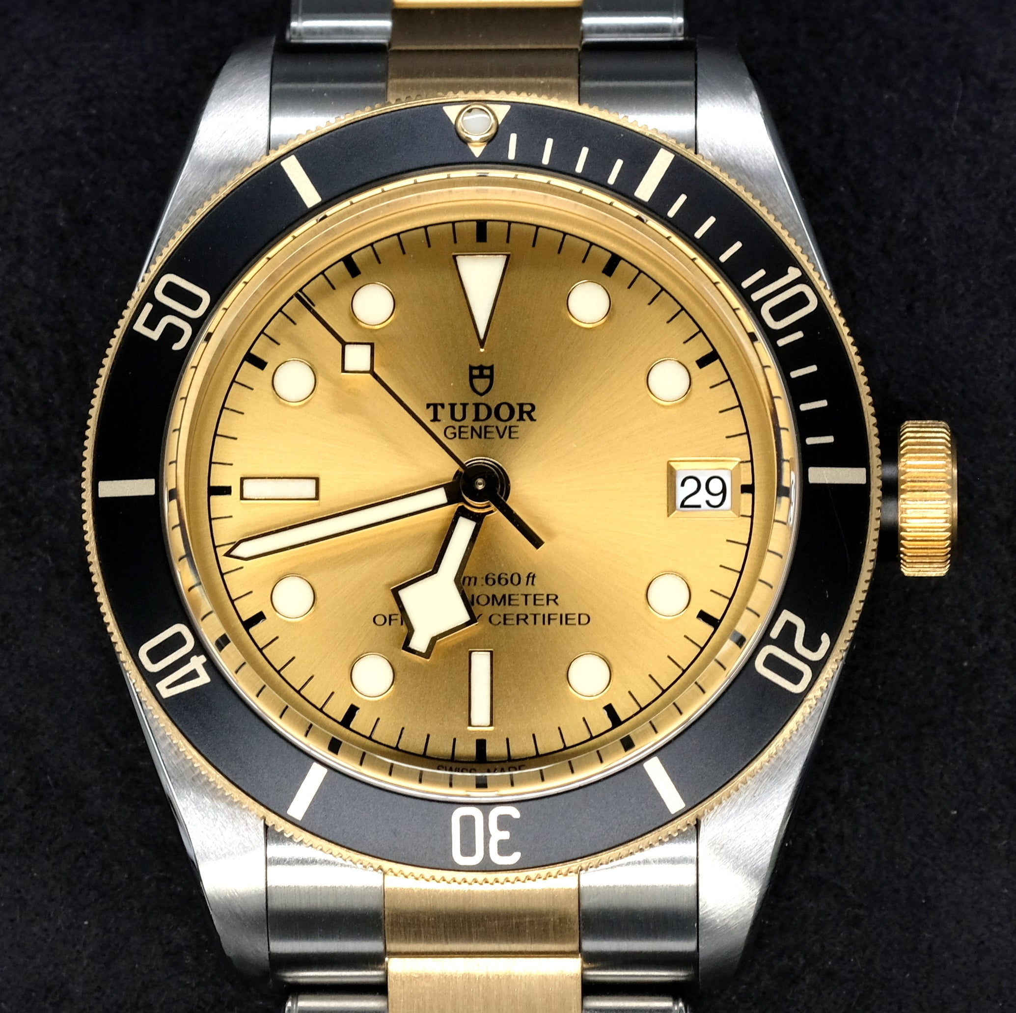 [Pre-Owned Watch] Tudor Heritage Black Bay S&G 41mm 79733N Champagne Dial (Steel & Gold Bracelet)
