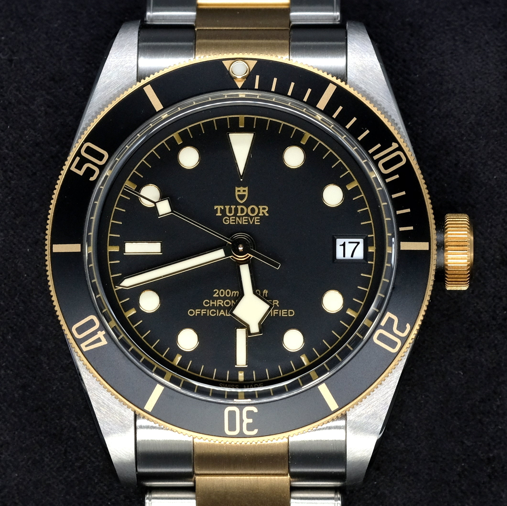 [Pre-Owned Watch] Tudor Heritage Black Bay S&G 41mm 79733N Black Dial (Steel & Gold Bracelet)