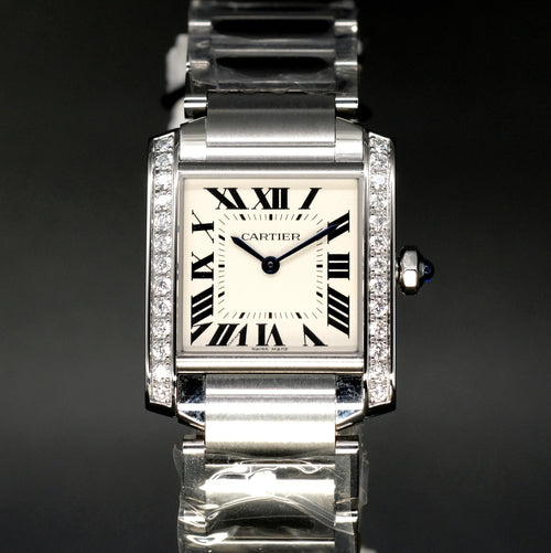 [Brand New Watch] Cartier Tank Francaise Watch 25mm W4TA0009
