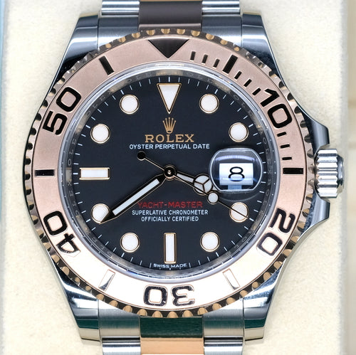 [Pre-Owned Watch] Rolex Yacht-Master 40mm 116621 Black Dial
