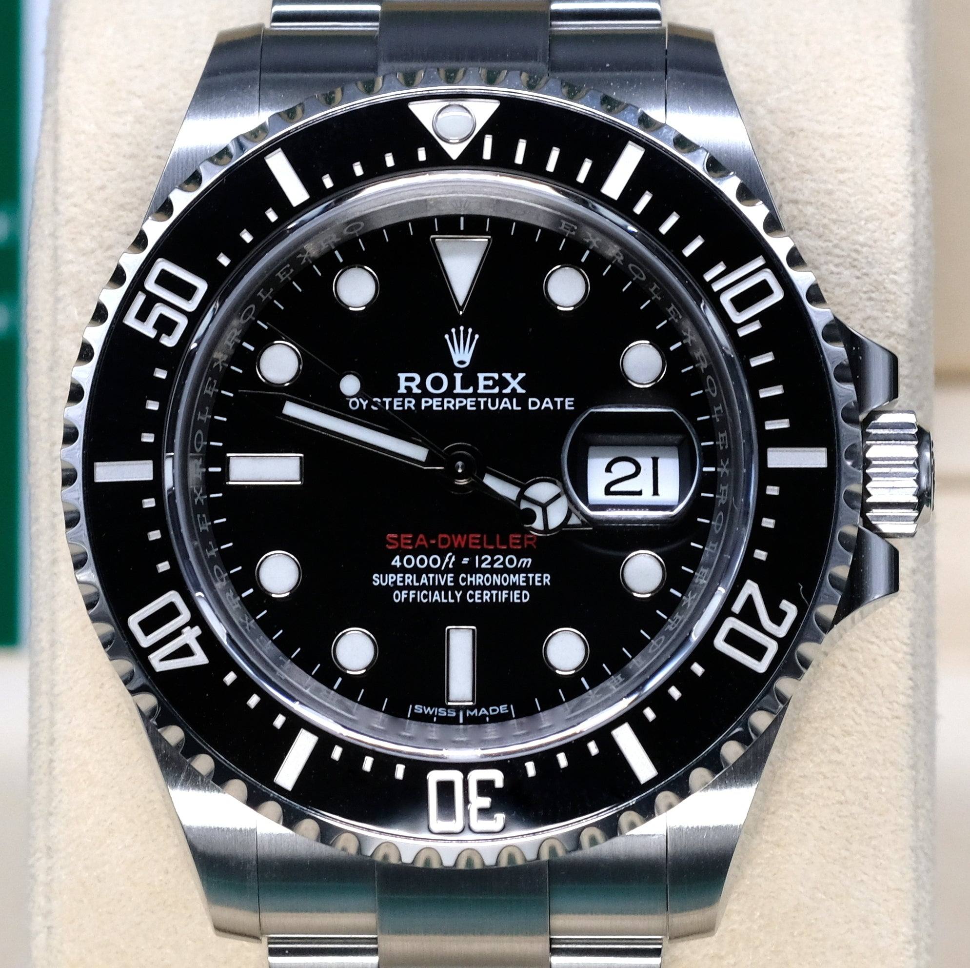 [Pre-Owned Watch] Rolex Sea-Dweller 43mm 126600 (Mark I) (Out of Production)