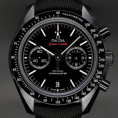 "[Brand New Watch] Omega Speedmaster Moonwatch Co-Axial Chronograph ""Dark Side of the Moon"" 44.25mm 311.92.44.51.01.007"