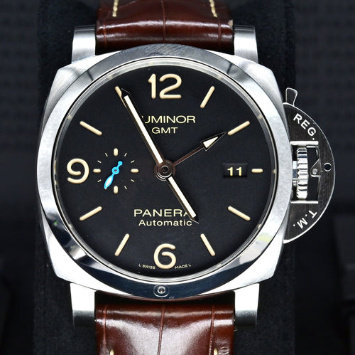 [Pre-Owned Watch] Panerai Luminor 1950 3 Days GMT Automatic Acciaio 44mm PAM01320