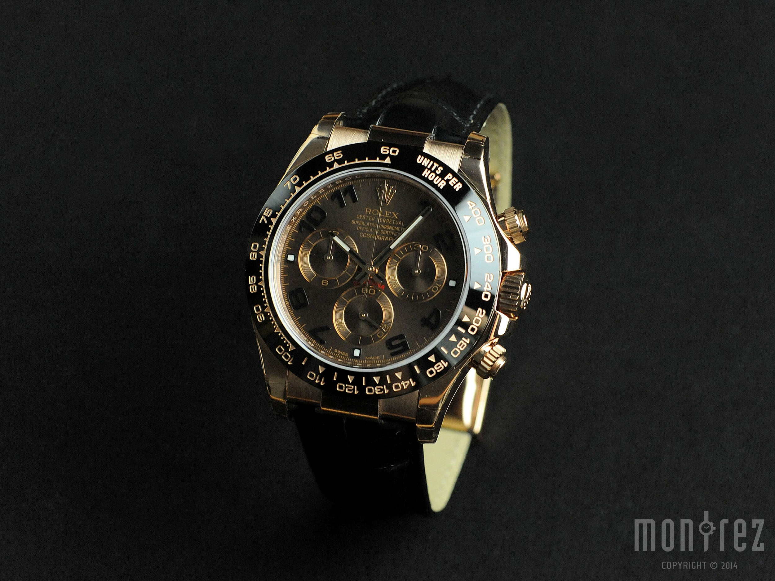Rolex Cosmograph Daytona 40mm 116515LN Chocolate Dial (Leather Strap) (Out of Production)