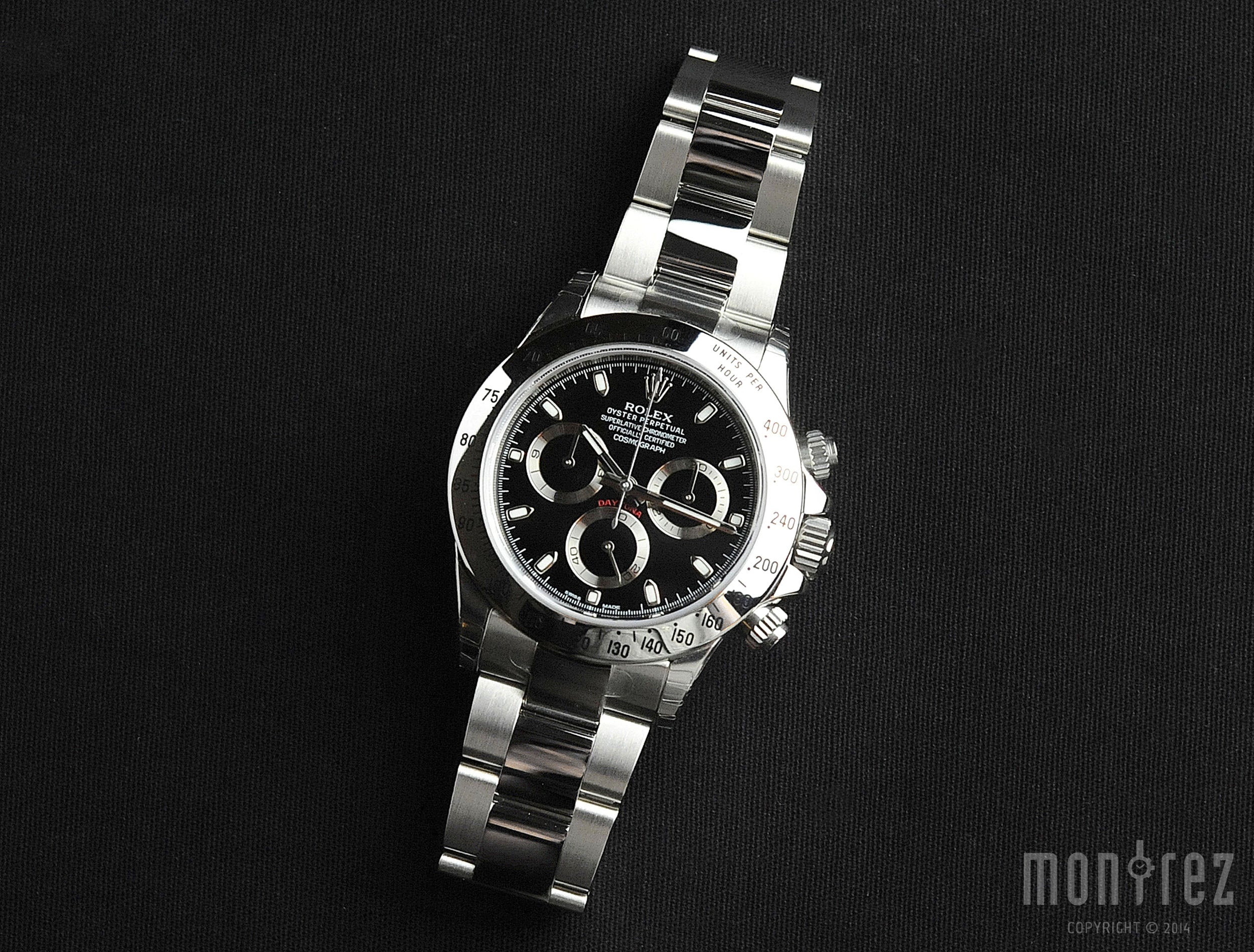 Rolex Cosmograph Daytona 40mm 116520 Black Dial (Out of Production)