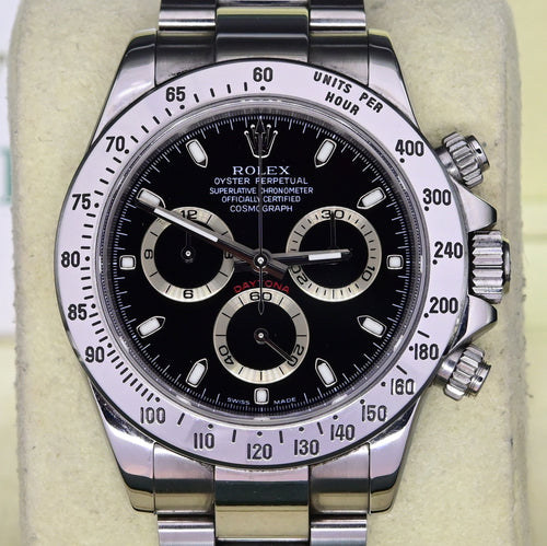 [Pre-Owned Watch] Rolex Cosmograph Daytona 40mm 116520 Black Dial (Out of Production)