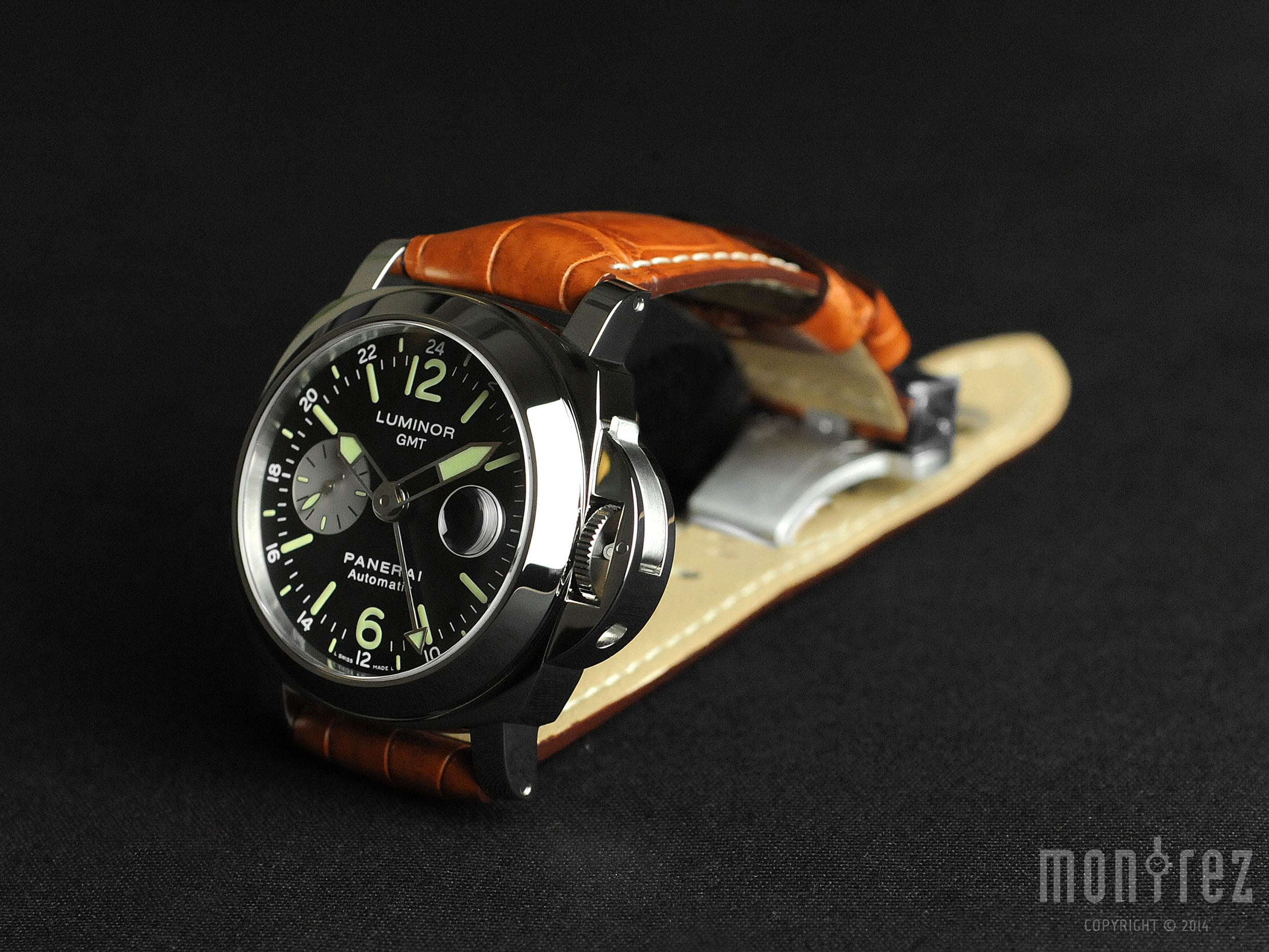Panerai Luminor GMT Automatic Acciaio 44mm PAM00088 (Out of Production)