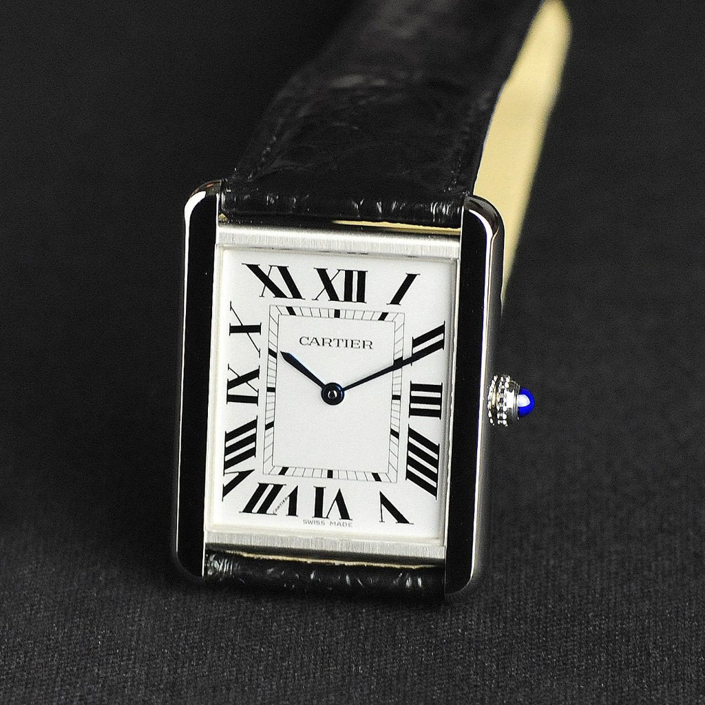 [Brand New Watch] Cartier Tank Solo Watch Large Model 27mm W5200003