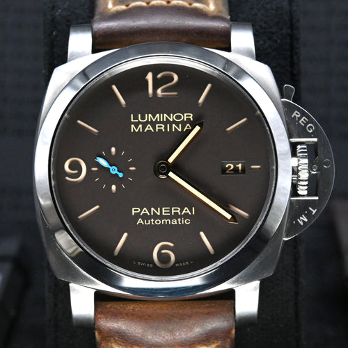 [Pre-Owned Watch] Panerai Luminor Marina 1950 3 Days Automatic Titanio 44mm PAM01351