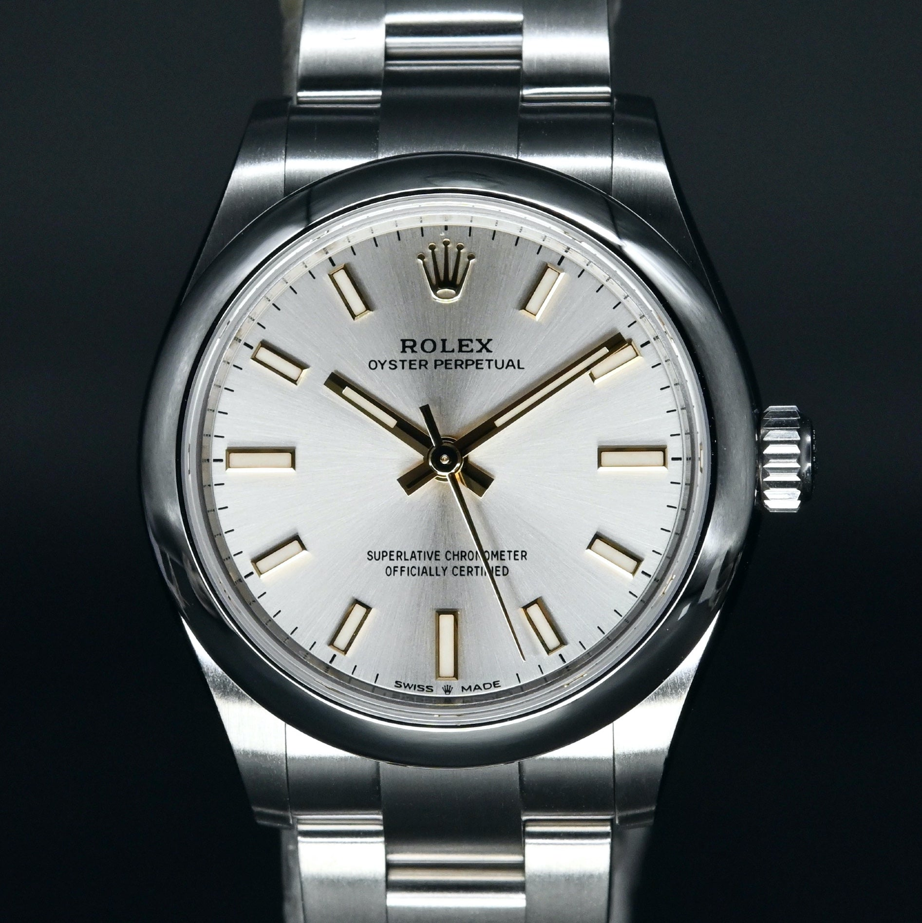 [Brand New Watch] Rolex Oyster Perpetual 31mm 277200 Silver Dial