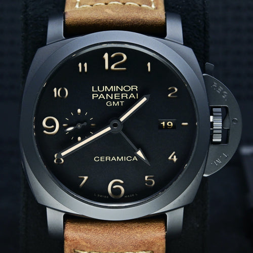 [Pre-Owned Watch] Panerai Luminor 1950 3 Days GMT Automatic Ceramica 44mm PAM00441