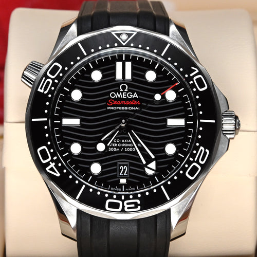 [Pre-Owned Watch] Omega Seamaster Diver 300m Co-Axial Master Chronometer 42mm 210.32.42.20.01.001