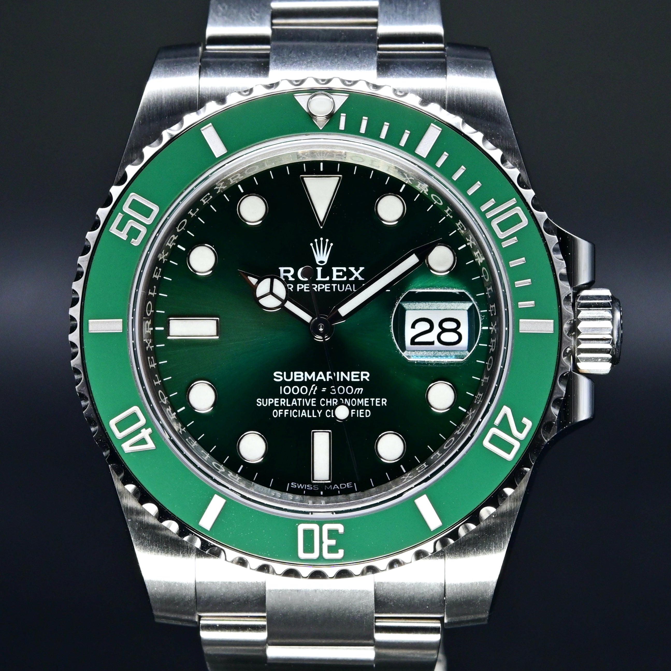 [Brand New Watch] Rolex Submariner Date 40mm 116610LV (Out of Production)