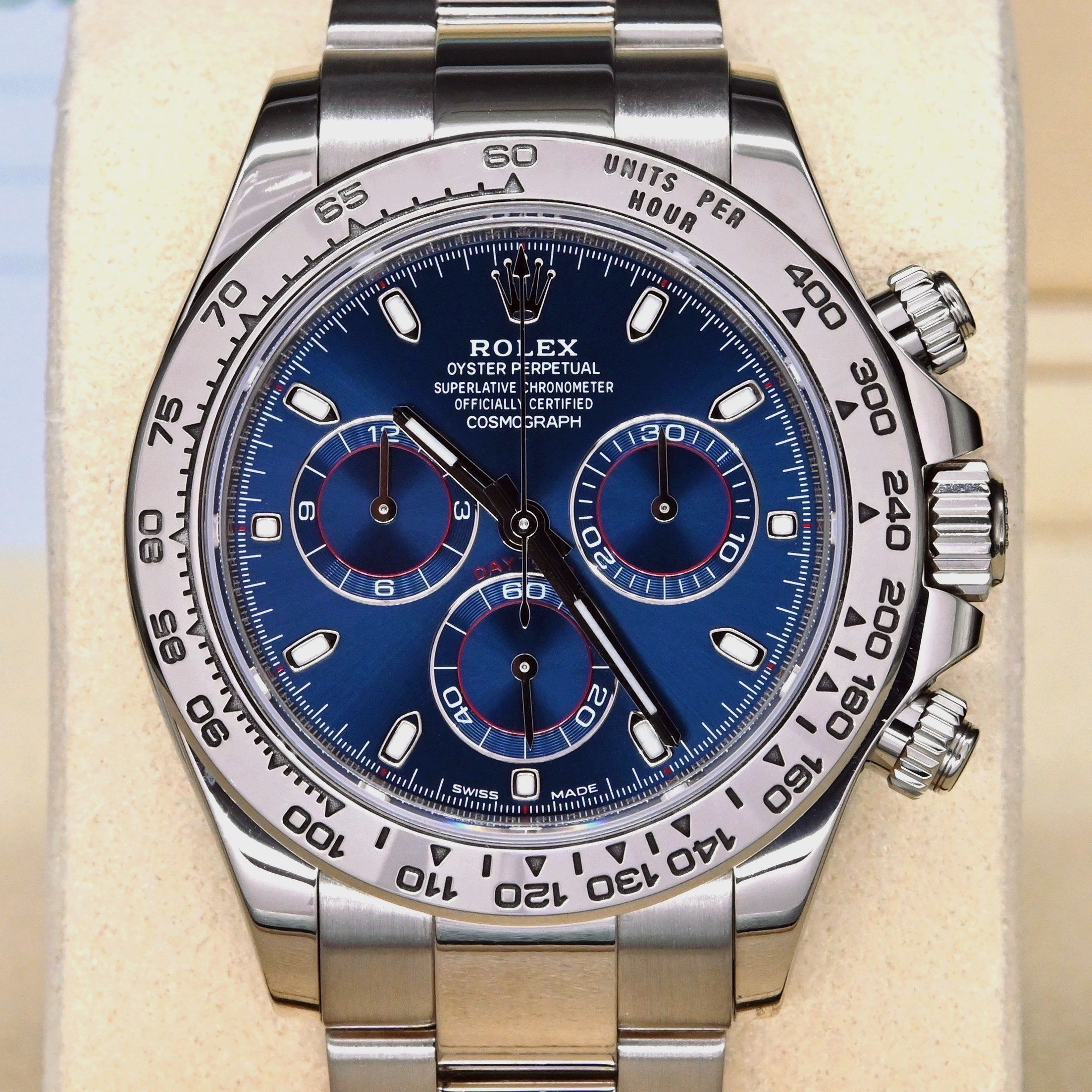 [Pre-Owned Watch] Rolex Cosmograph Daytona 40mm 116509 Blue Dial