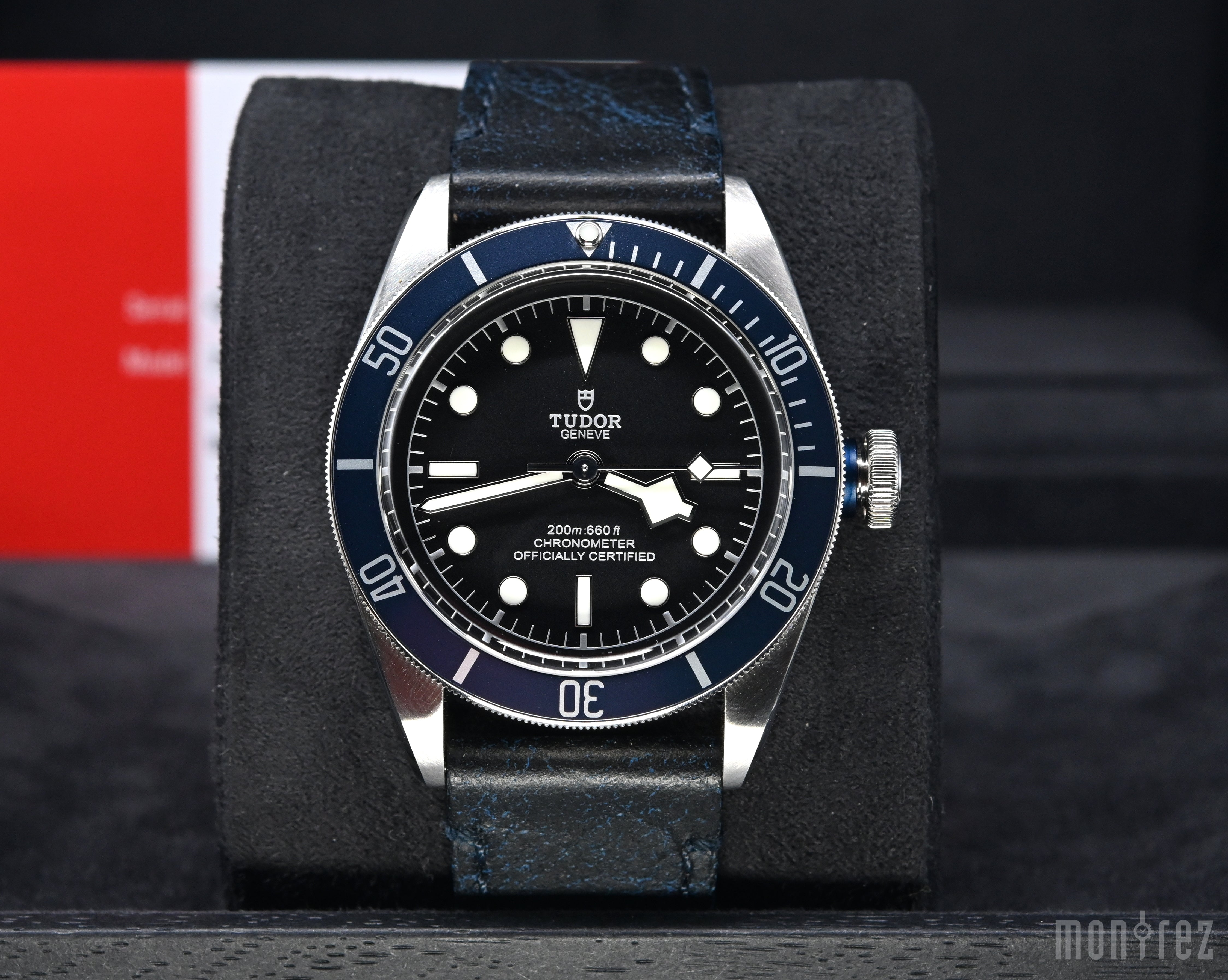 [Pre-Owned Watch] Tudor Heritage Black Bay 41mm 79230B (Leather Strap)