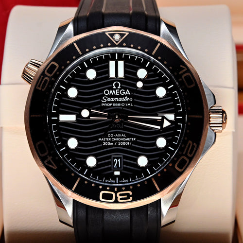 [Pre-Owned Watch] Omega Seamaster Diver 300m Co-Axial Master Chronometer 42mm 210.22.42.20.01.002
