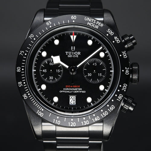 [Brand New Watch] Tudor Black Bay Chrono Dark 41mm 79360DK (Limited Edition) (888)